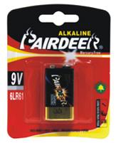 Pairdeer 6LR61 Alkaline