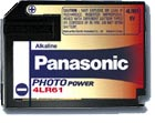Panasonic Photo 4LR61 Alkaline rafhlöður