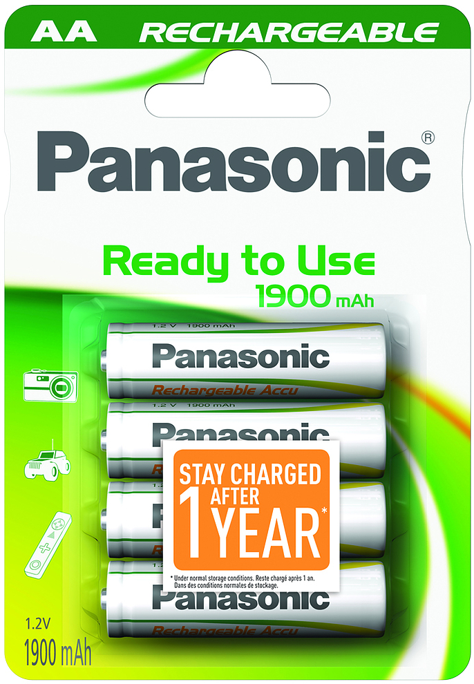 Panasonic Ready to Use 1900mAh