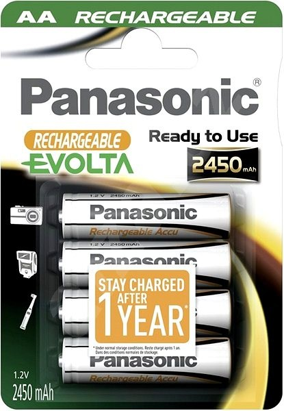 Panasonic Ready to Use 2450mAh