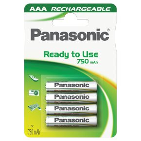 Panasonic Ready to Use 750mAh