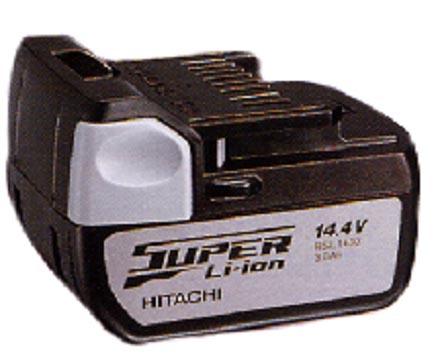 Hitachi 14.4V borvélarafhlöður