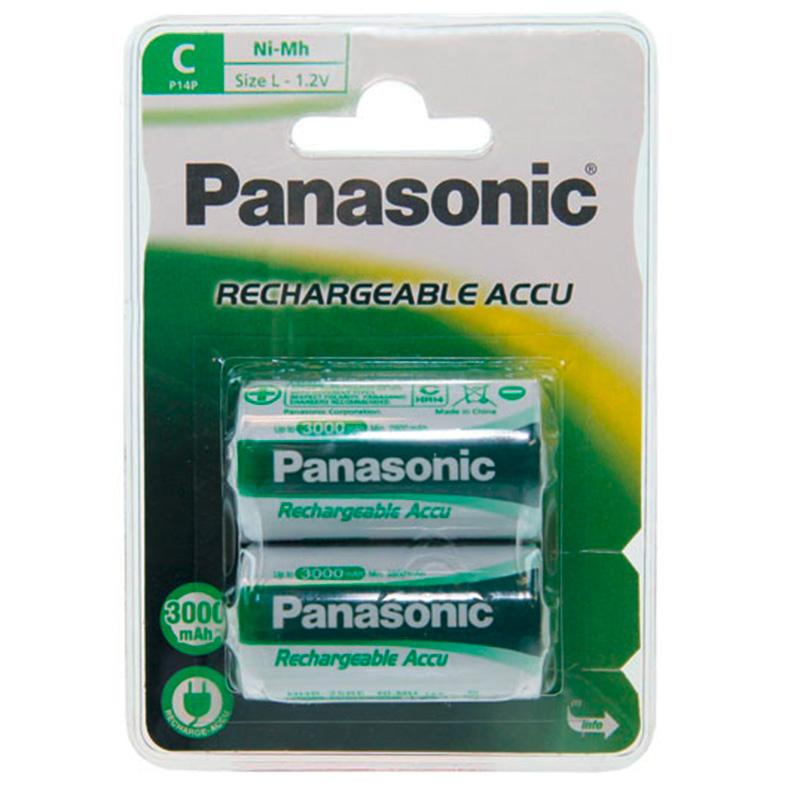 Panasonic Infinium C Hleðslurafhlöður - 2xAA
